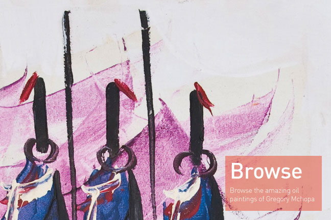 Broswe The Works of Gregory Mchopa